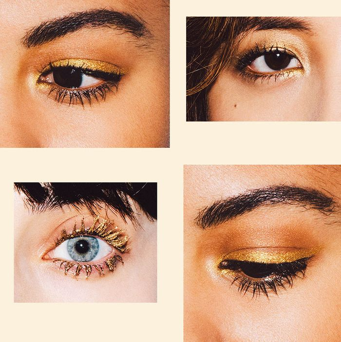 4 Cool Festive Ways To Wear Gold Eye Makeup