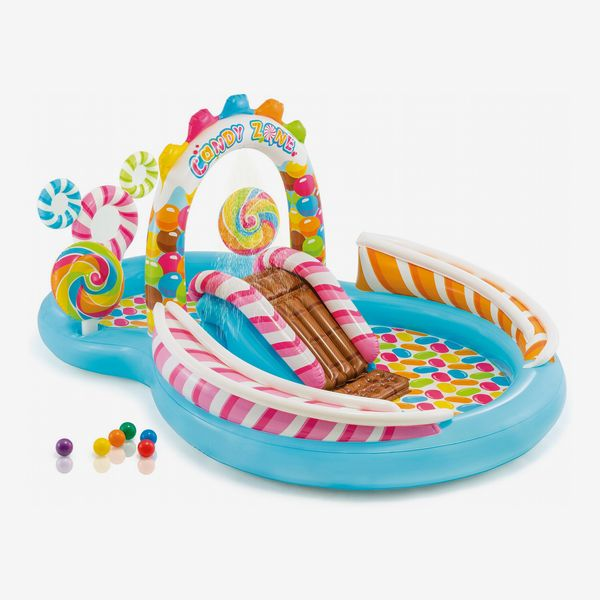 Intex Kids Inflatable Candy Zone Swim Play Center