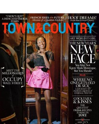Shala Monroque for <em>Town & Country</em>.