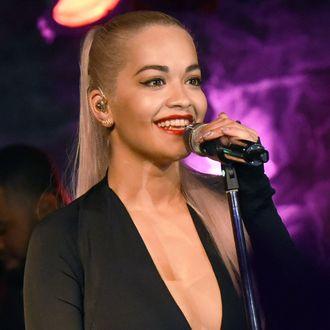 Rita Ora Performs At The Loft