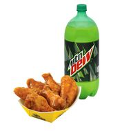 Buffalo Wild Wings Breaks Down, Covers Chicken in Mountain Dew