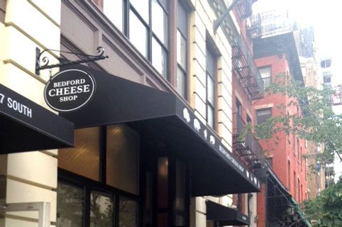 Bedford Cheese Shop's spiffy new Manhattan digs.