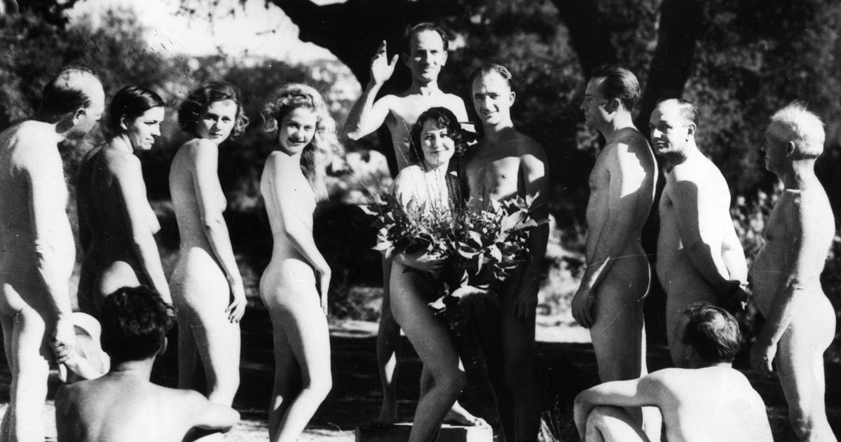 Consider Nudism at Your Wedding