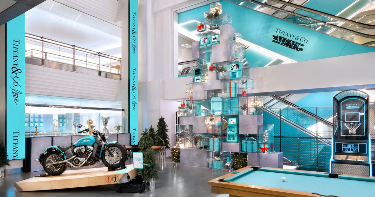 Inside The Tiffany Amp Co Men S Pop Up Shop