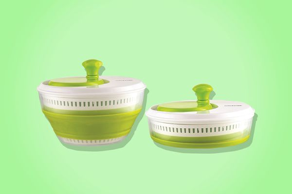 Gourmia GMS9100 Collapsible Salad Spinner