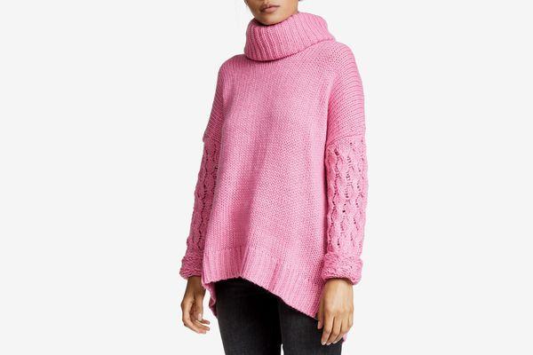 One Teaspoon Rider Roll Neck Sweater