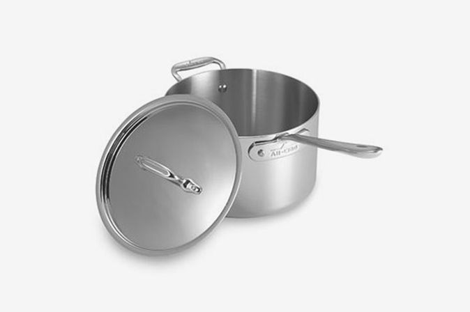 All-Clad Stainless Steel 4-Quart Covered Saucepan