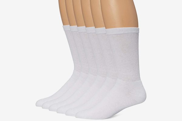 Hanes Ultimate Men's 6-Pack FreshIQ Crew Socks