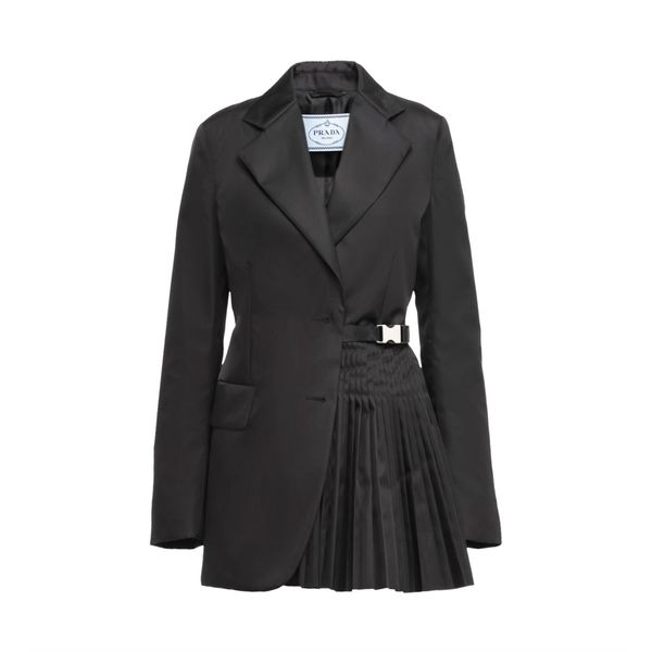 Prada Single-Breasted Re-Nylon Gabardine Jacket