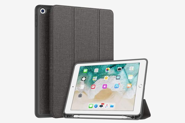Soke New iPad 9.7 2018/2017 Case with Pencil Holder