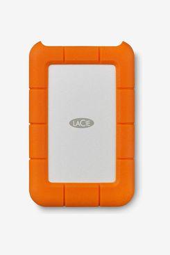 LaCie Rugged Mini 2 TB External Hard Drive Portable HDD