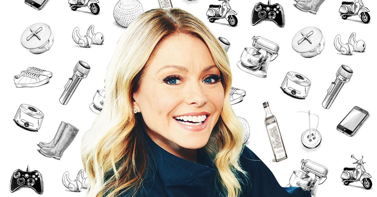 What Kelly Ripa Can't Live Without