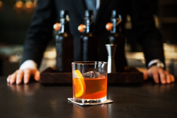 This Faux Negroni Is Manhattan's Most Distinguished New Mocktail