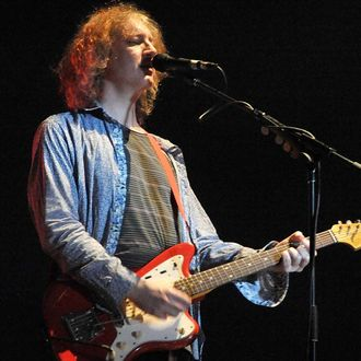 INDIO, CA - APRIL 19: Musician Kevin Shields of My Bloody Valentine performs during day three of the Coachella Valley Music & Arts Festival 2009 held at the Empire Polo Club on April 19, 2009 in Indio, California. (Photo by Kevin Winter/Getty Images)