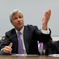 WASHINGTON, DC - JUNE 19:  JPMorgan Chase & Co Chairman and CEO Jamie Dimon testifies before the House Financial Services Committee on Capitol Hill June 19, 2012 in Washington, DC. After testifying before the Senate last week, Dimon answered questions from the committee about his company's $2 billion trading loss earlier this year.  (Photo by Chip Somodevilla/Getty Images)
