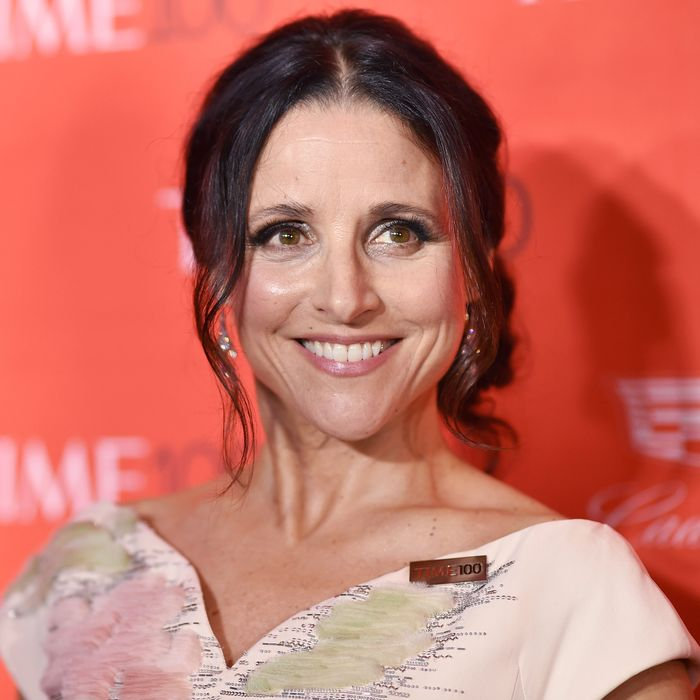 Julia Louis-Dreyfus at the <em>Time</em> 100 gala.