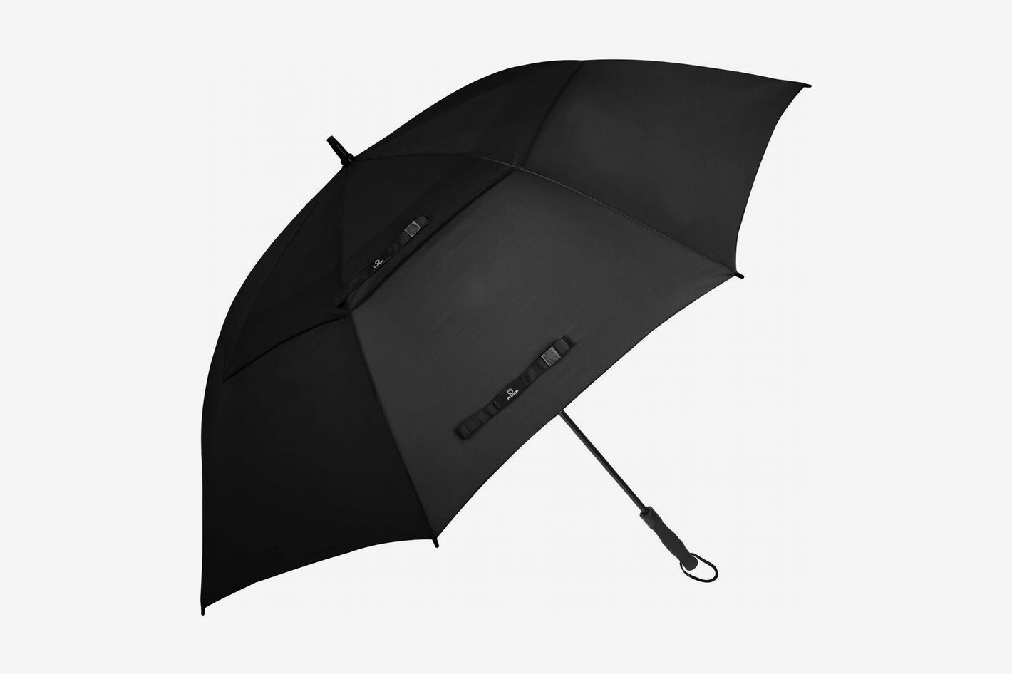 e56c502284bdb Prospo 62/68 Inch Oversized Auto-Open Golf Umbrella Double Canopy Vented Large  Umbrella at Amazon. Buy