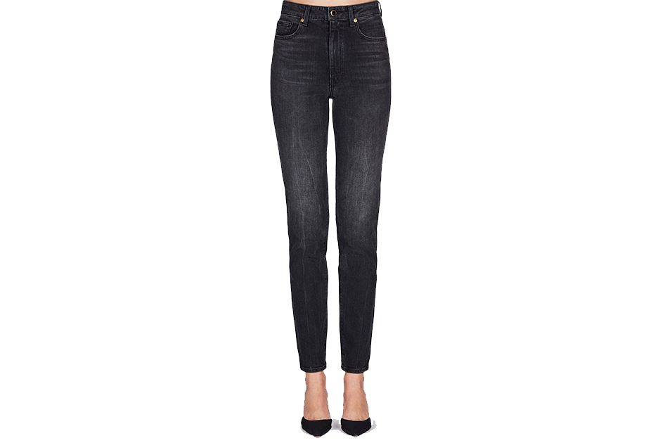 Khaite Vanessa High-Rise Straight Jean