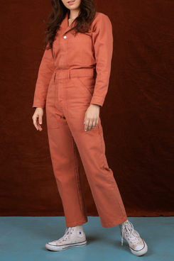 Big Bud Press Everyday Jumpsuit - Clay Red