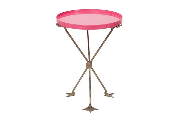 Matthew Williamson Pink Tray Table