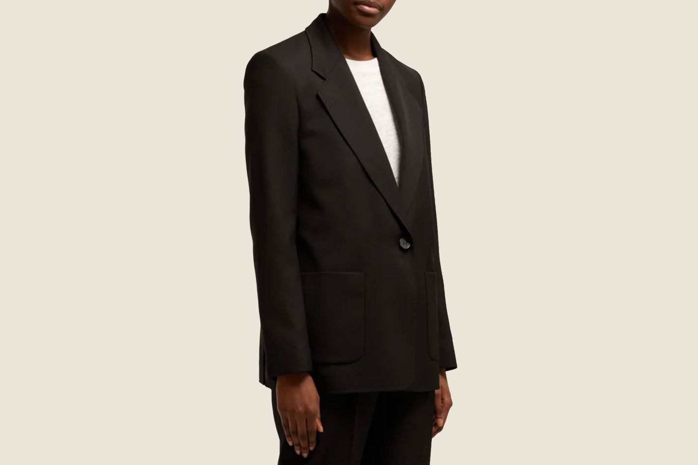 Acne Studios Jana Single-Breasted Blazer