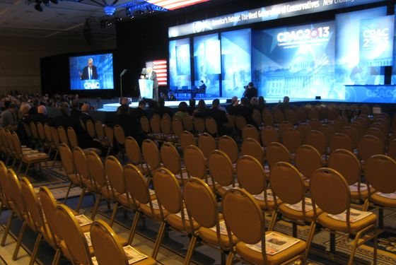 Trump's Speech: Empty Chairs