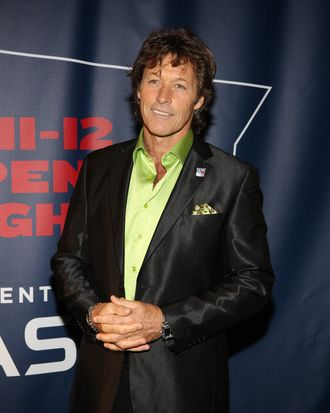 Ron Duguay attends the New York Rangers home opener at Madison Square Garden on October 27, 2011 in New York City.