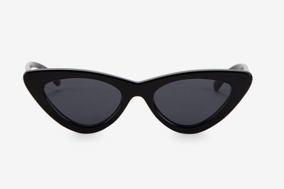 6818fc5515 Adam Selman x Le Specs Luxe the Last Lolita Black Sunglasses