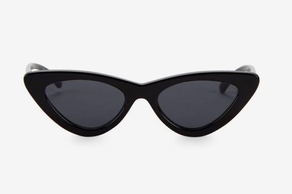 Adam Selman x Le Specs Luxe the Last Lolita Black Sunglasses