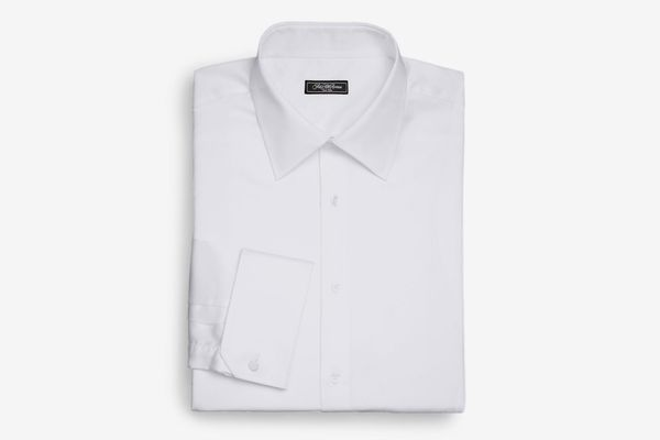 Saks Fifth Avenue Collection Regular-Fit French Cuff Cotton Shirt