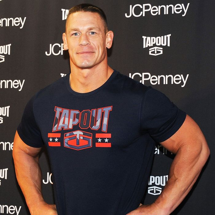 WWE Star John Cena on Working Out, Moisturizing, and Barre