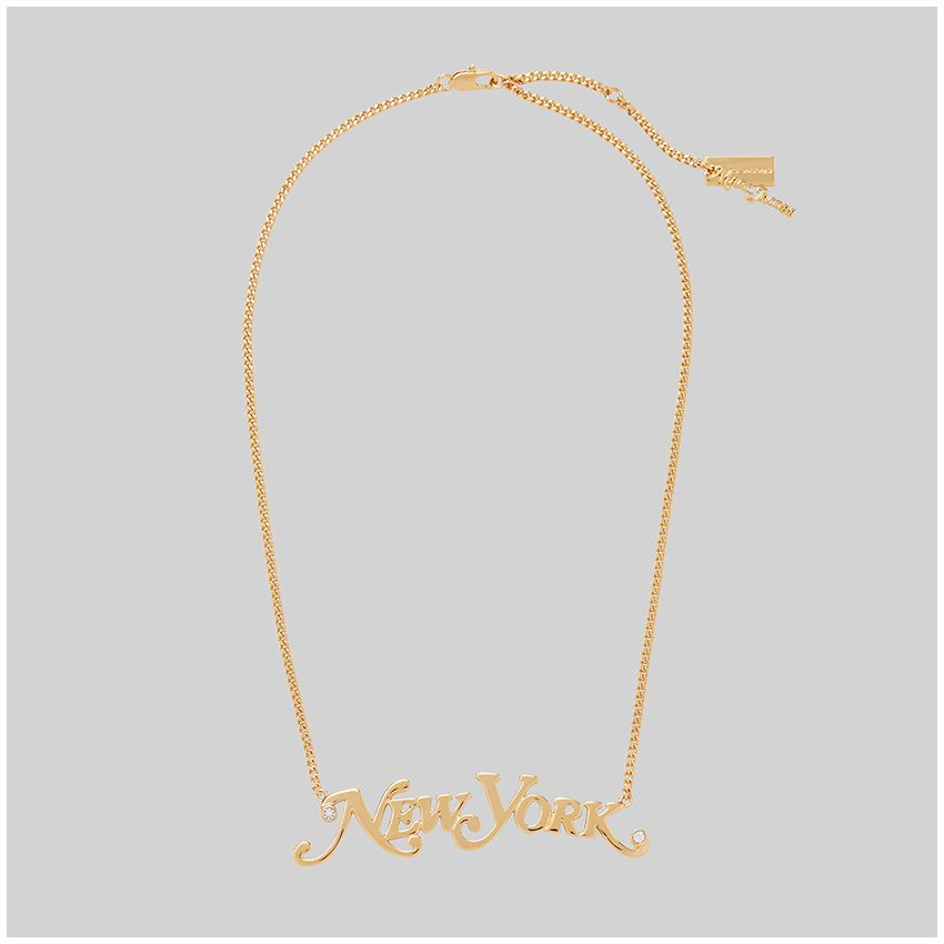 THE Nameplate Necklace Pendant