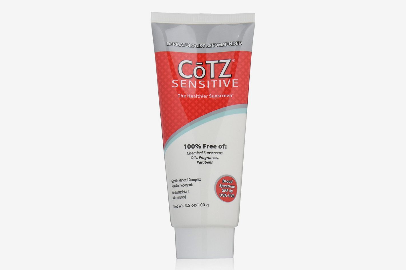 CoTZ SPF 40 UVB/UVA Sunscreen for Sensitive Skin