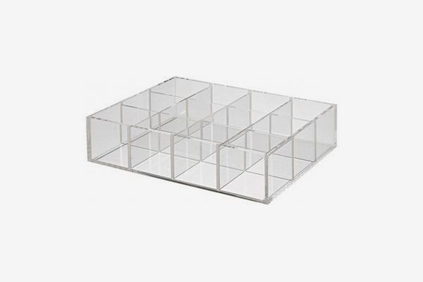 Muji Acrylic Storage Stand With Partitions