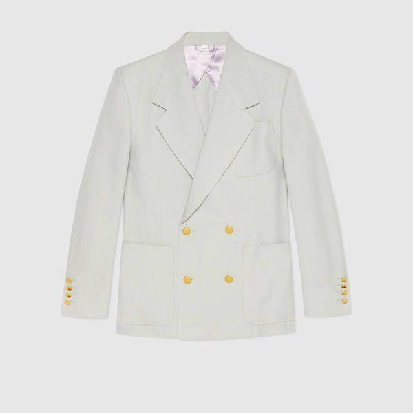 Gucci Viscose Gauze Jacket