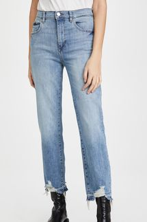DL1961 Patti High Rise Straight Jeans