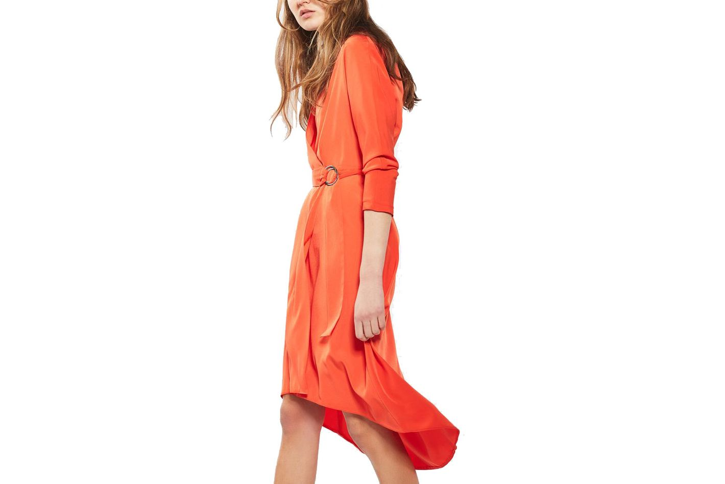 Topshop ring wrap dress