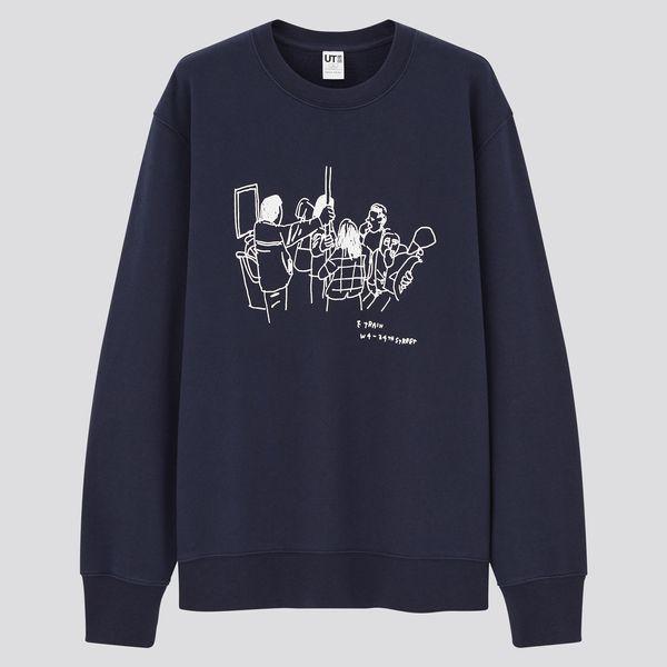 Uniqlo x Jason Polan Long-Sleeve Sweatshirt
