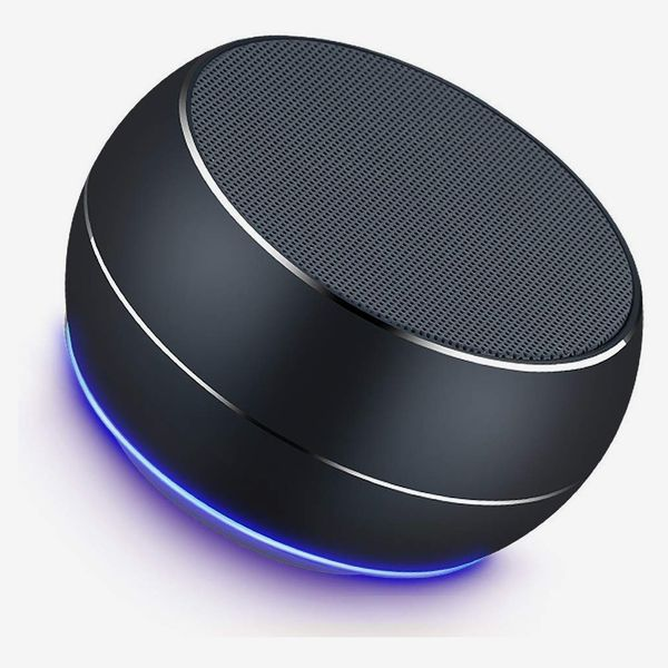 Lenrue Mini Wireless Outdoor Rechargeable Speakers with LED