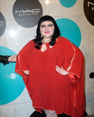 BSinger Beth Ditto attends the launch of the new MAC collection, at Haus De Reisens on June 5, 2012 in Berlin, Germany.