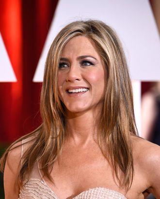 Jennifer Aniston; Jennifer Aniston's hair.