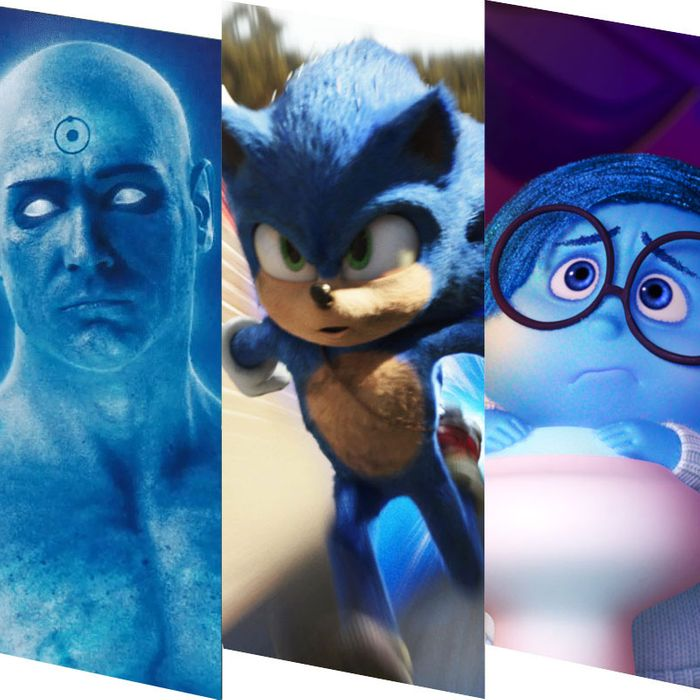 The Best Blue Movie Characters Ranked