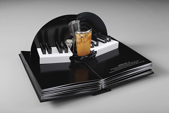 This page describes a Sinatra-inspired cocktail made with Jack Daniel's.