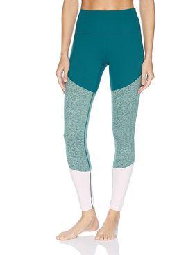 Core 10 Women's Bold Colorblock High Waist Yoga Full-Length Legging-28