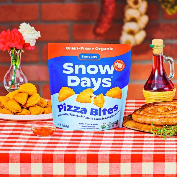 Snow Days Sausage Pizza Bites