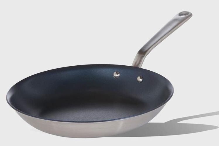 Stainless Steel Non-Stick Frying Pan, 10-Inch