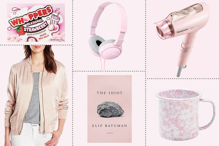 31 millennial pink things you can buy on amazon for Millenial pink gifts