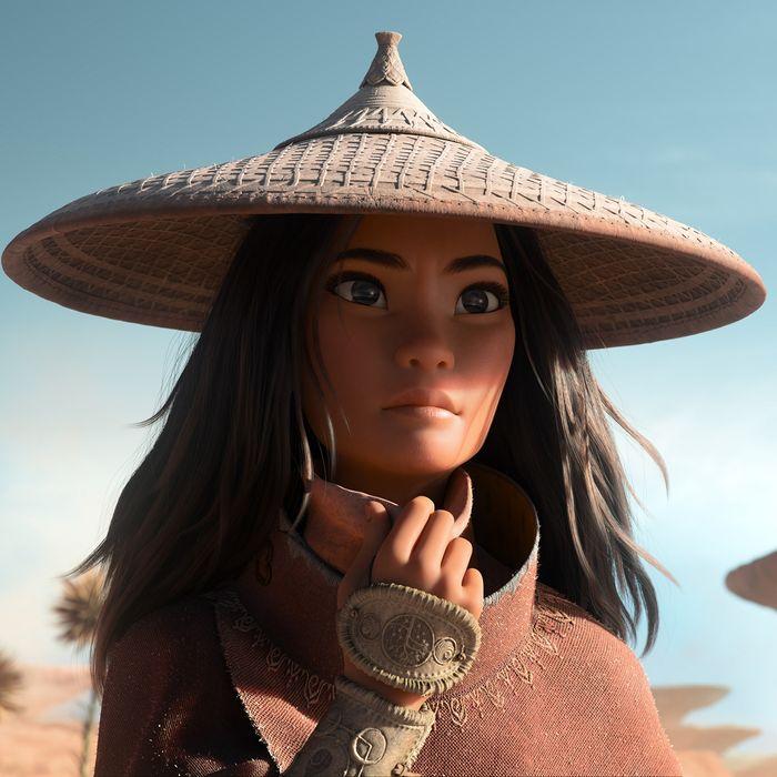 Raya (voiced by Kelly Marie Tran) in Disney's Raya and the Last Dragon