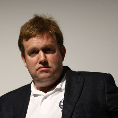"Political consultant Frank Luntz attends the premiere and panel discussion of ""Poliwood"" during the 2009 Tribeca Film Festival at BMCC Tribeca Performing Arts Center on May 1, 2009 in New York City."