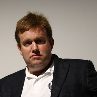 Political consultant Frank Luntz attends the premiere and panel discussion of